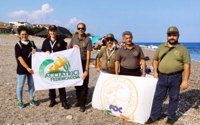 Federcaccia Catania con il Coordinamento Regionale delle Federcacciatrici donne impegnati in una operazione di tutela Ambientale nel Comuna di Mascali